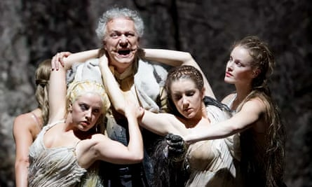 Dramatic clarity... Guy Cassiers' production of Das Rheingold at Berlin's Staatsoper
