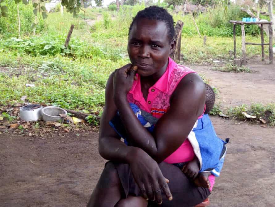 Christine Lamwaka in Palabek