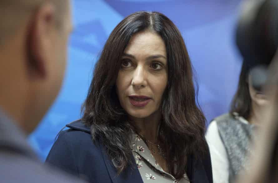 Israel's Joe McCarthy? … Miri Regev, the minister for culture and sport.