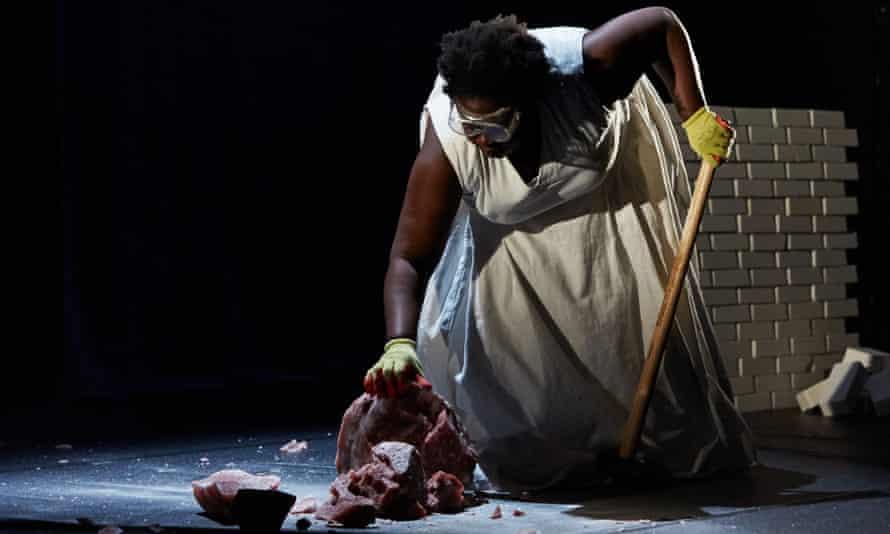 Haunting … Selina Thompson in Salt.