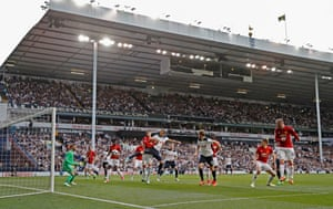 Harry Kane scores the winning and final Spurs goal at the stadium before its closure