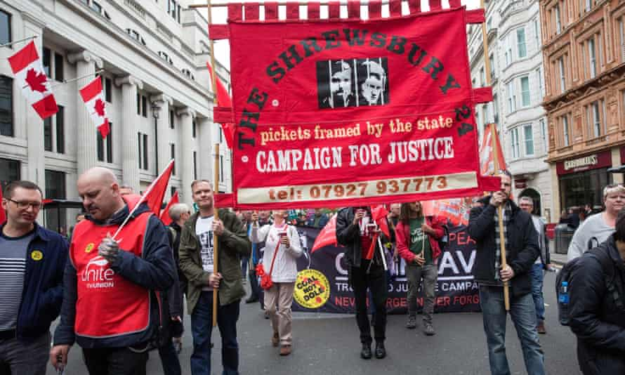 TUC march, London