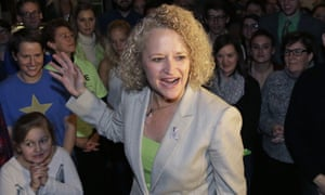 Jackie Biskupski is Salt Lake City�s first openly gay mayor.