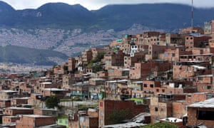 The Bogotá barrio of El Oasis, … residents of poorer neighbourhoods pay less for water, telephone bills and rubbish collection than those in wealthy areas.