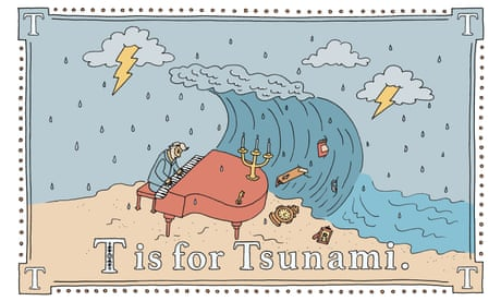 P is for pterodactyl, T is for tsunami: the 'worst alphabet book' becomes a bestseller