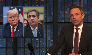 Seth Meyers on the Cohen hearing: 'We say this a lot but today was truly one of the most eventful days of the Trump presidency.'