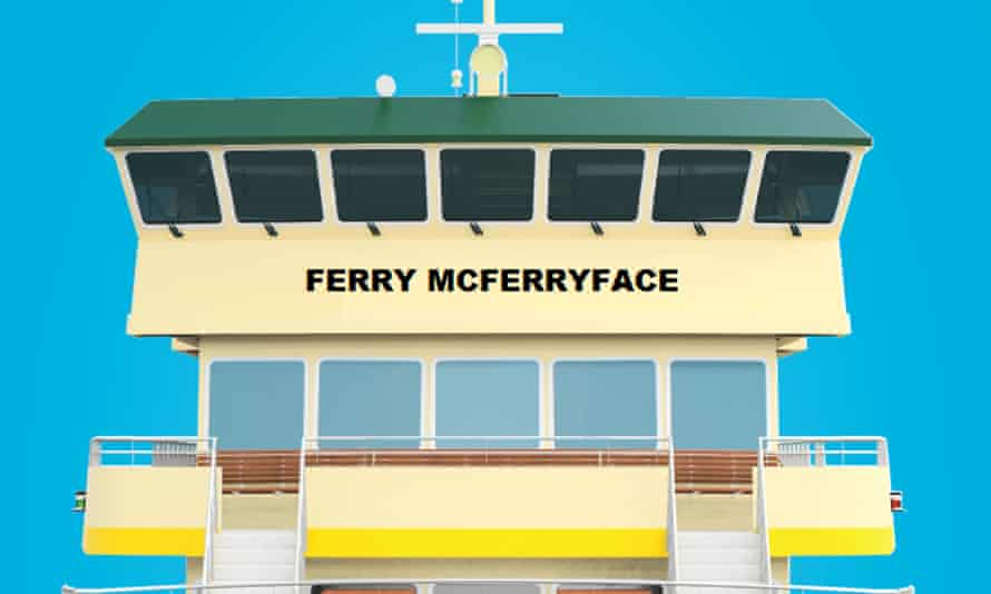 Artist's impression of Ferry McFerryface.