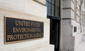 The EPA offices in Washington DC.