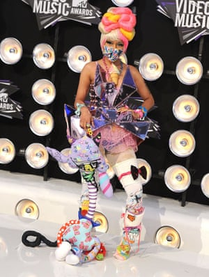 Nicki Minaj attends the 28th Annual MTV Video Music Awards, 2011