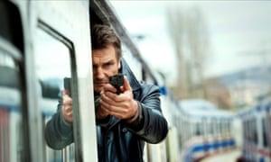 Liam Neeson as Bryan Mills in Taken 2.