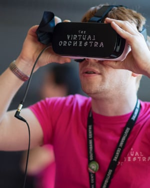 The Virtual Orchestra at Royal Festival Hall.