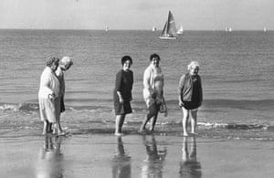 Margate beach, 1972