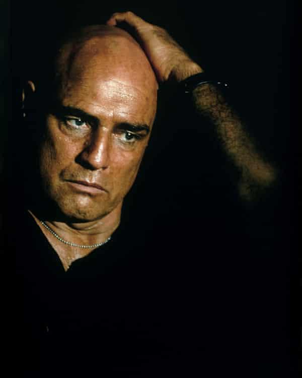 Marlon Brando in Apocalypse Now.
