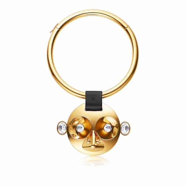 A piece from Louis Vuitton's new Vuittonite monkey-themed jewellery range, produced for Chinese new year