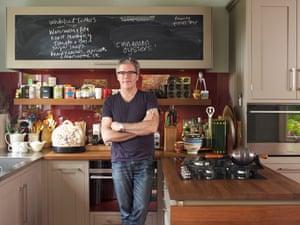 chef peter gordon in his kitchen