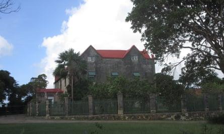 Drax Hall in Barbados.