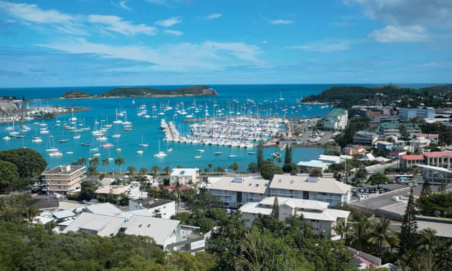 The bay of Noumea