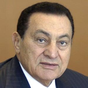 President Hosni Mubarak.