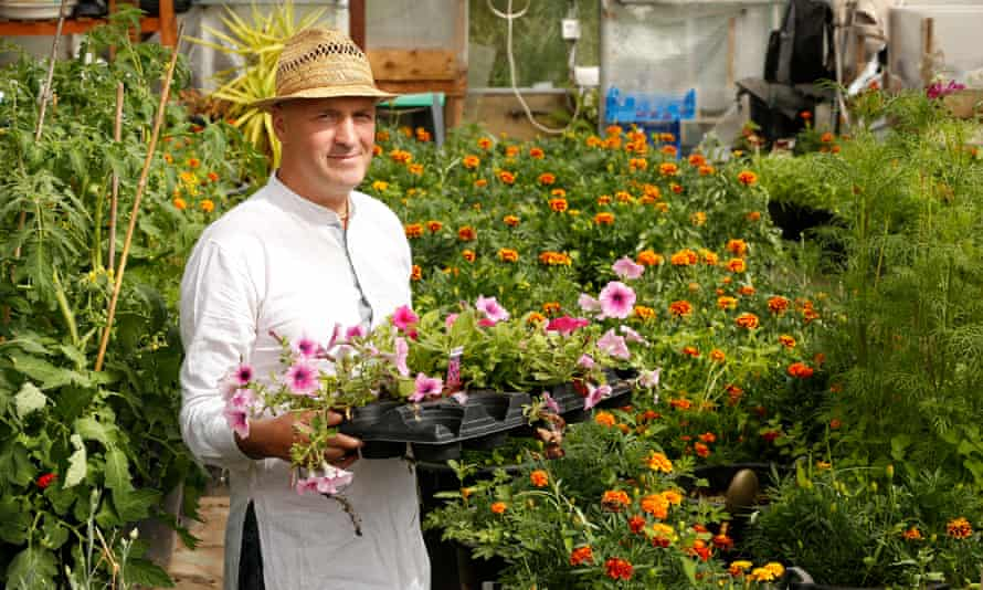 Bhakti Vinode: 'I love sitting in the greenhouse.'