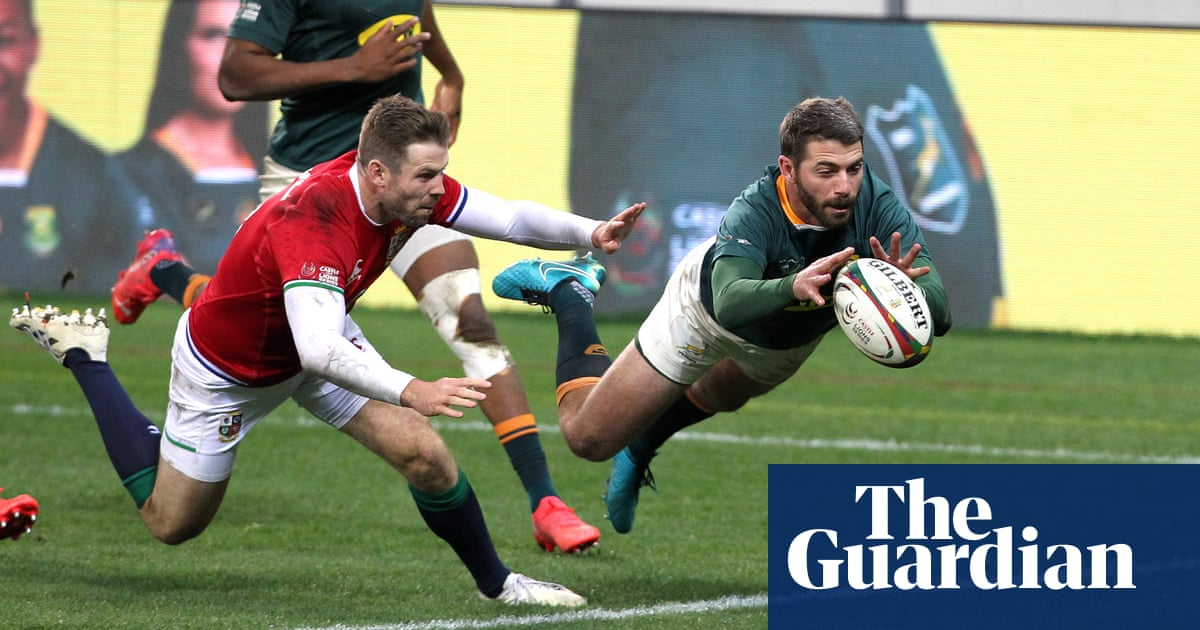 Lions win mind games battle after TMO Marius Jonker left high and dry