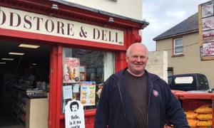 Sean O'Donnell, a Doonbeg resident who welcomes Trump's visit