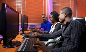 Youth unemployment is estimated to be as high as 35% in Kenya.