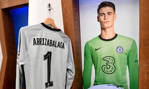 'Should have tried to punch it, Kepa,' sniggered a tall man in rimless glasses.