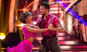 Peter Andre with dance partner Janette Manrara on Strictly Come Dancing.