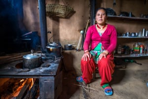 Locals turn their homes in impromptu restaurants for the few passing tourists. This woman cooked us dal bhat, the Nepali staple of rice and lentils dish