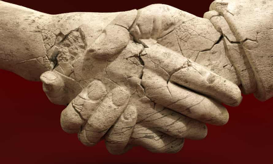 Get a grip: the time will come when the world will once again shake hands.