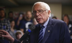 'The term has moved beyond its cold war connotations' … Democratic presidential candidate Bernie Sanders.