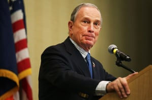 Michael Bloomberg, who will never be president.