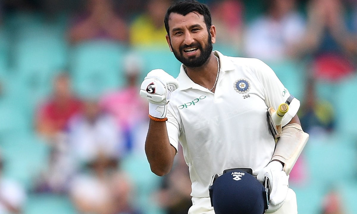 Cheteshwar Pujara stands tall to earn Australia's grudging respect | India cricket team | The Guardian
