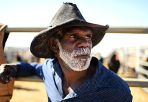 Queensland, Australia: Dean Jupiter watches the Mount Isa mines rotary rodeo