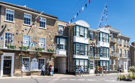 The Swan Hotel in Southwold.