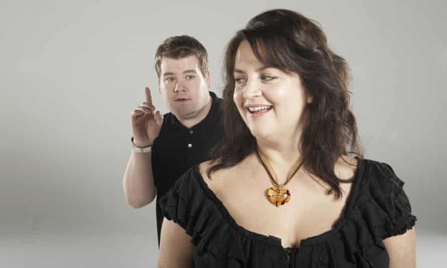 Gavin and Stacey creators James Corden and Ruth Jones.