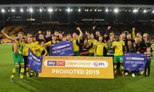 Norwich City's thrilling young side celebrate a return to the Premier League that very few people thought was possible at the start of the season.