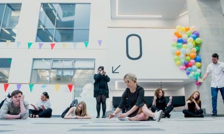 Salford University's performance students