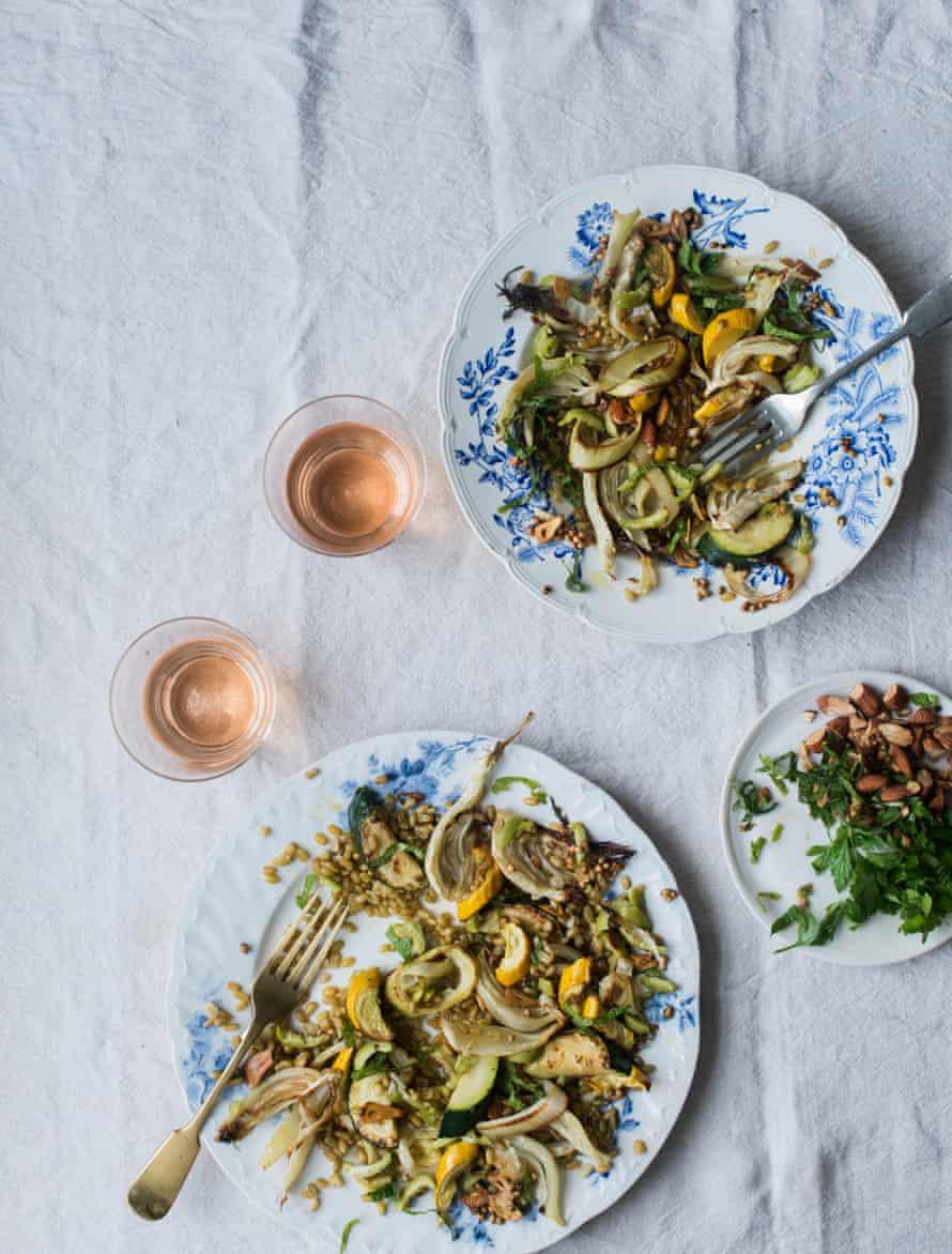 Frekeh Salad