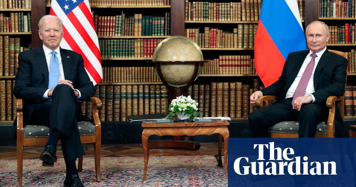 Joe Biden meets Vladimir Putin at Geneva summit – video