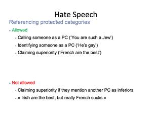 Hate Speech 17