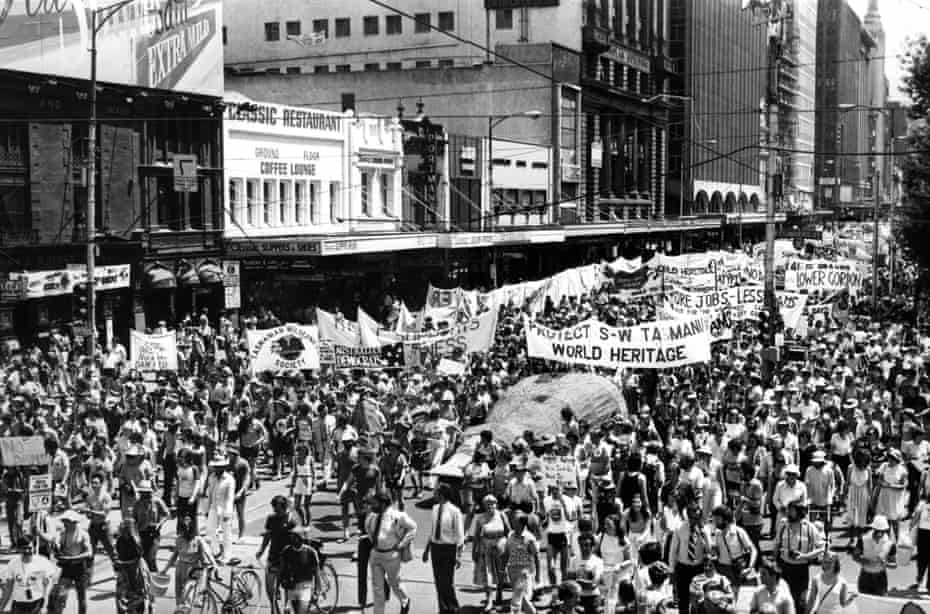The Melbourne rally