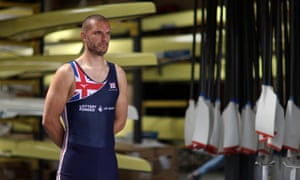 Moe Sbihi, Olympic flag-bearer for Britain.