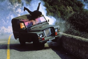 A stunt sequence from The Living Daylights in 1987