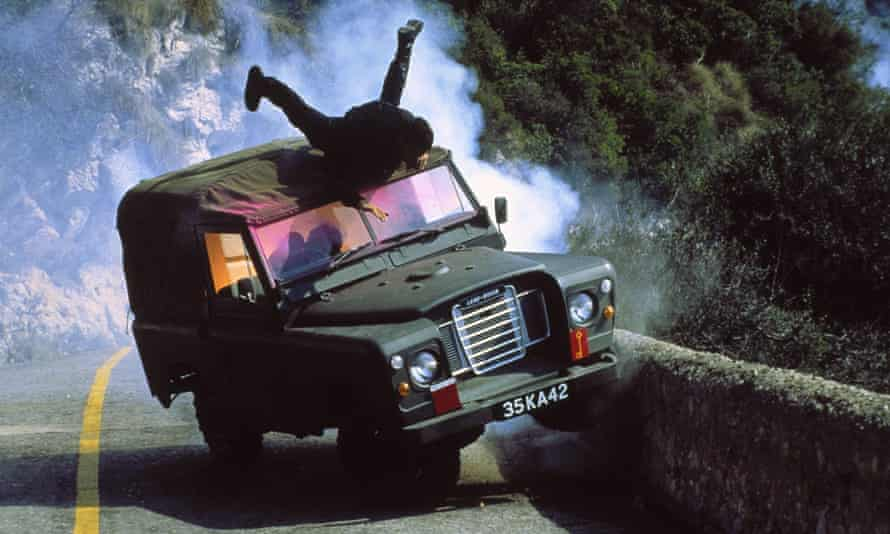 Wooster masterminded shots of 007's Land Rover careering down the Rock of Gibraltar for The Living Daylights in 1987.