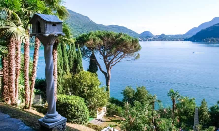 Morcote, Switzerland - Scherrer Park Garden of Wonders