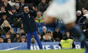 Urging his players forward will not necessarily be the answer for Maurizio Sarri at the Etihad this weekend.