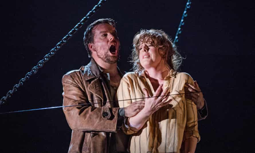 You could quite see why this Giorgetta went for Luigi': David Butt Philip and Giselle Allen in Il tabarro.