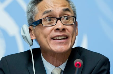 The UN's first independent investigator to help protect homosexual and transgender people from violence and discrimination, Vitit Muntarbhorn.