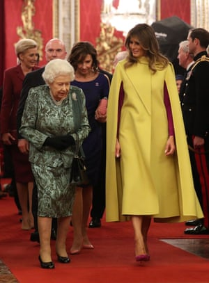 The Queen and Melania Trump